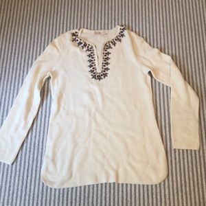 Tory Burch 100% cotton woven tunic
